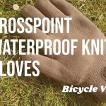 Showers Pass Crosspoint Knit Gloves, Waterproof AND Climate Neutral