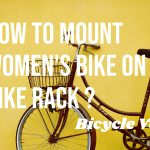 How To Mount Womens Bike On Bike Rack (Crossbar adapter for car carriers)