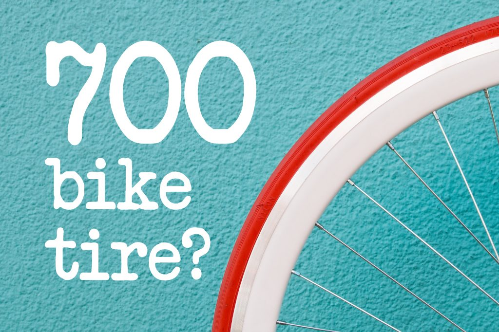 700 Bike Tire In Inches
