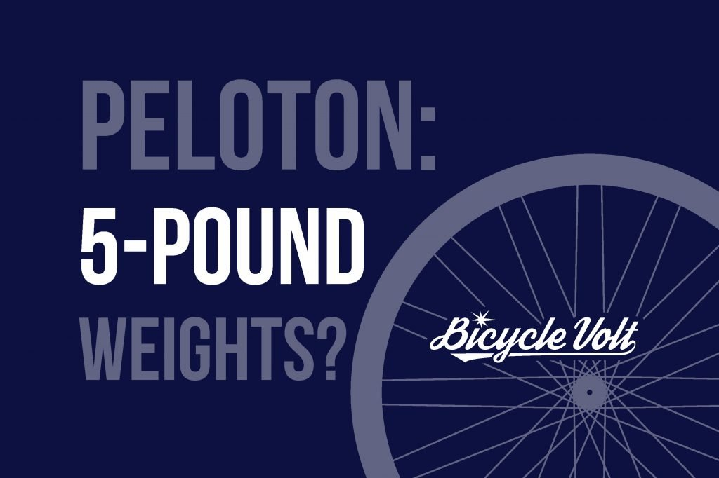 Peloton 5 Lb Weights